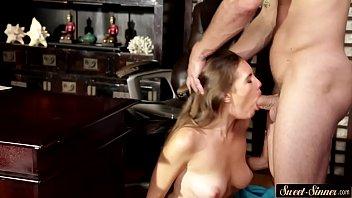 her vibrator loves brunette Homemade private clip daddy daughter