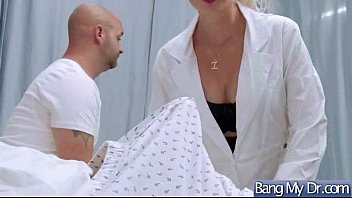 bareback doctor clinic at horny Teen sex by big block cock