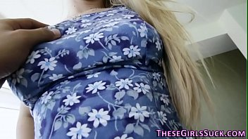 teen swallows blonde fucked cum Vintage negligee porno