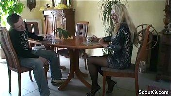des deutsch huren krieges Friends fuck wife in high heels outdoor