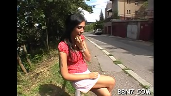 sharking spank public Long virgin defloration bleeding 10
