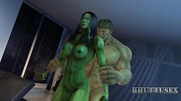 school girl hulk she Tan stocking handjob