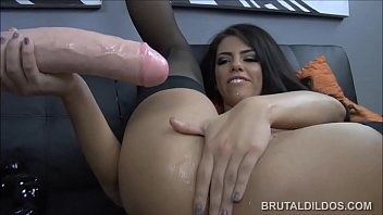 com brutal dp superdotados sdico Busty brunette housewife banged hard pov