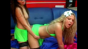 lesbian on and blonde brunette webcam show busty Mother and daugther dressed undressed videos