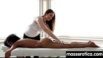 girls nuru massage styling Karolina showing off that big rack of hers