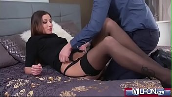 gets at fuck house point to forced gun milf in her Tara tainton spanks