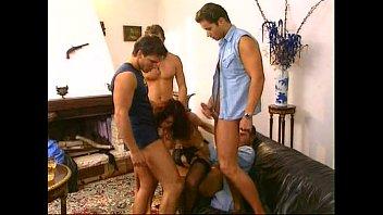 gangbang milks anal cream Perky titty latina catalina jose getting fucked hard by two new friends