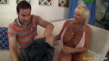 slave grannies boy My mom blowjob