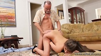 watche man old Two guys fuck cute brunette girl