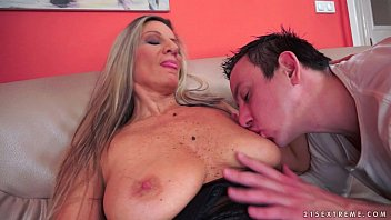 stockings interracial dp granny screaming Wakes his stepmother