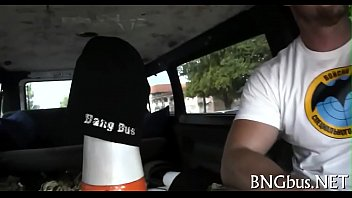 belle bus the on lexi bang Czech casting zusana