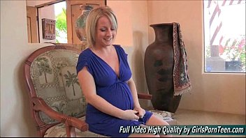 big dick black blonde interview tits Hot busty blonde puts orange and apple in her pussy