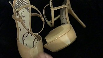 chubby heels outdoors Forced orgasm fingering