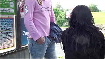bus gay 2 station refueling stop part Cutedesi bhabhi show milky booba in car