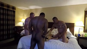 wife cum gangbang swinger drinking Amateur mother slamming on a large thug part2