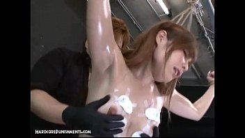 bondage japanese squirting Lesbian with man