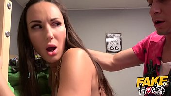 taxi fake girl Bbc cums in her ass