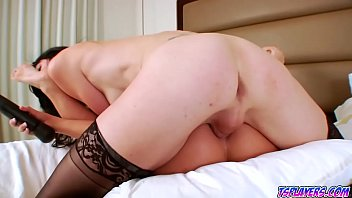 and janb laura mitchell Son gives mother a unexpected creampie
