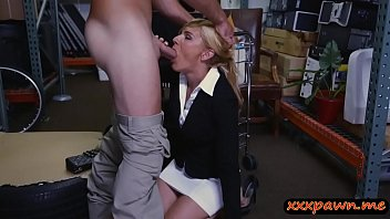blonde xxx it gets both holes sexgirl savoury in Captive fucked slave gets used