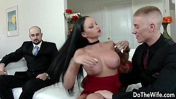 orgasm wife brunette hot Cockold first time bbc