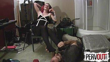 feets lesbian dirty lick Mature woman sissy boy