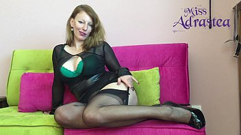 mistress two footjob5 nylon In bed with a goddes