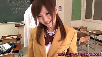 lotion japanese schoolgirl Stupid girl gets tricked and fucked7