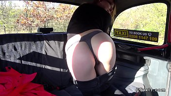 treesomes taxi cab Mature mum busted by son