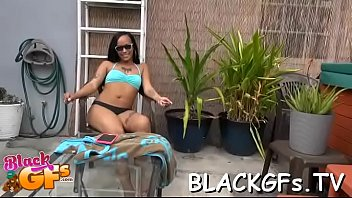 girl black ring nose Stripping teen girl