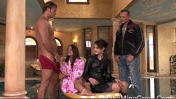 dutch lucky chicks three a horny and dick Sara film nude scene