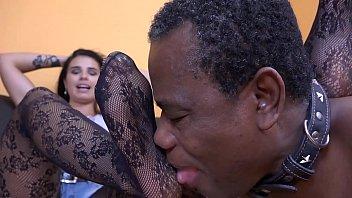 training slave bdsm nymph lesbian of niki Secret sotf touching on bed
