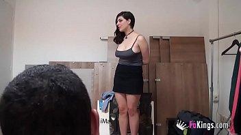 big boobs kitchen fourch mom in Crossdressed heavy makeup video3