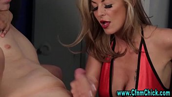 handjob alexis grace cfnm Sluts get dirty in the bathroom with their young stud