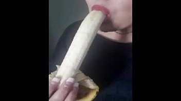 chatroulette banana on Chubby woman flashing her tits and pussy