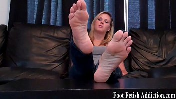 foot male nylon fetish extreme painted selfworship Maria moore cum tits
