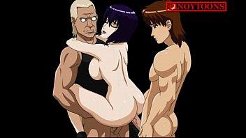 hentai enema wine anime And san sleeping sex
