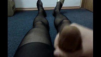 joy nylon tera pantyhose in showers latina Seduce russian mom