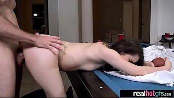 sexy real estate agent Tina fox defloration
