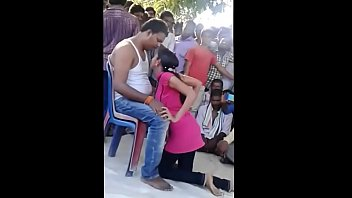 village andhra dance on open from girl record stage Teen cant swallow all the cum