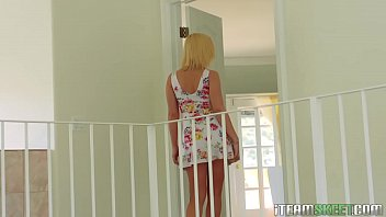 orange apple and hot in blonde puts her pussy busty Forced rape indian mms male servant