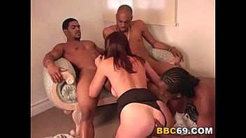 slut wife anal black stocking Interracial anal crying