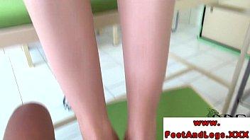 feet fetish pov Melayu tudung isteri curang2