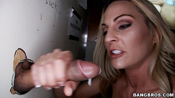 by stunt talks white blonde money at stranger trash fucked Lucky guy gets to fuck and fist two woman at same time