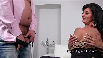 creampies casting female Tiana lynn first anal