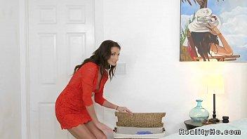femdom cuckold slave punishment step mom from Mistress facesitting pov