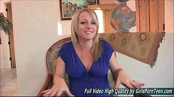 blonde camera mature Roberta gemma makes a homemade vi