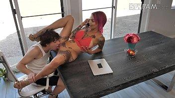 belle nora casting3 Lesbian mutual masturb to orgasm hidden