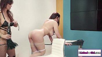 thighs lesbians humping Amateur latina hot girl get hard sex clip 17
