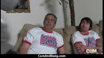 fucks muscular white guy ebony Hidden cam amateur in bed